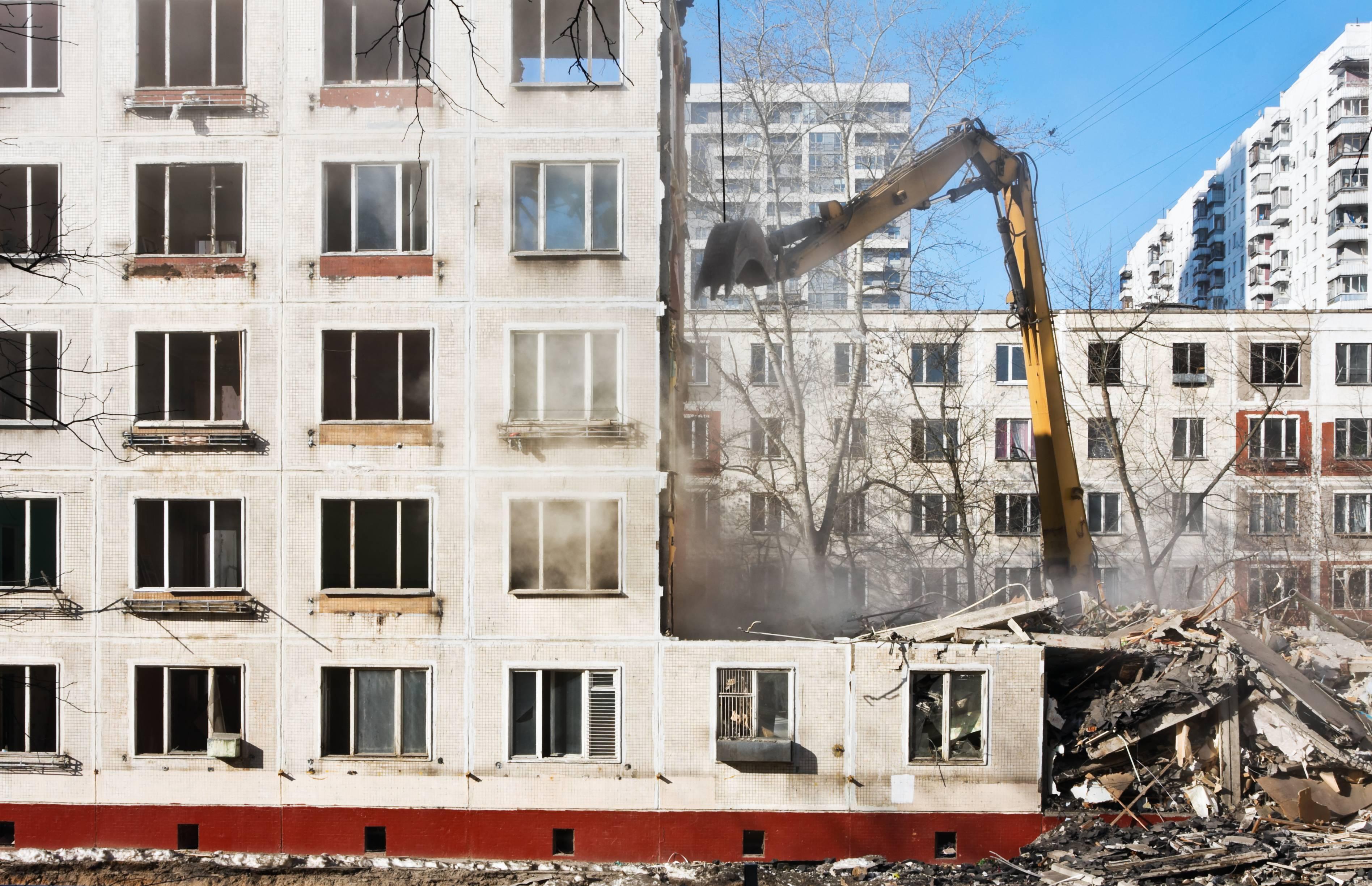 Для переселения москвичей из «хрущевок» до конца года сдадут 20 домов