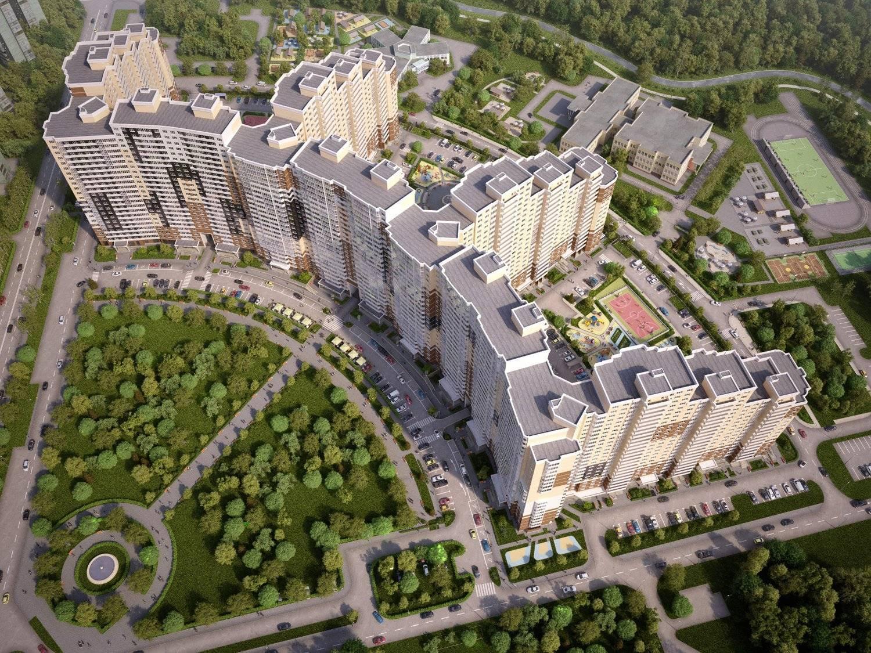 AFI Development объявила о начале отделочных работ корпуса «B» жилого микрорайона «Одинбург»