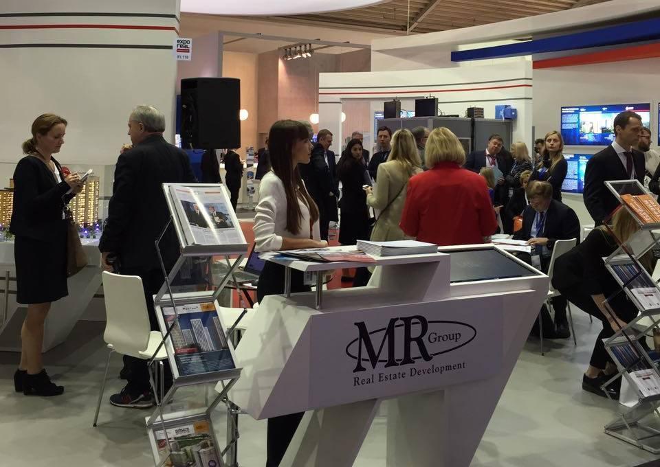 MR Group принимает участие в международной выставке Expo Real 2016