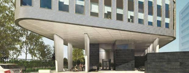 На юго-западе Москвы возведут офисный центр с бионическим фасадом - Фото