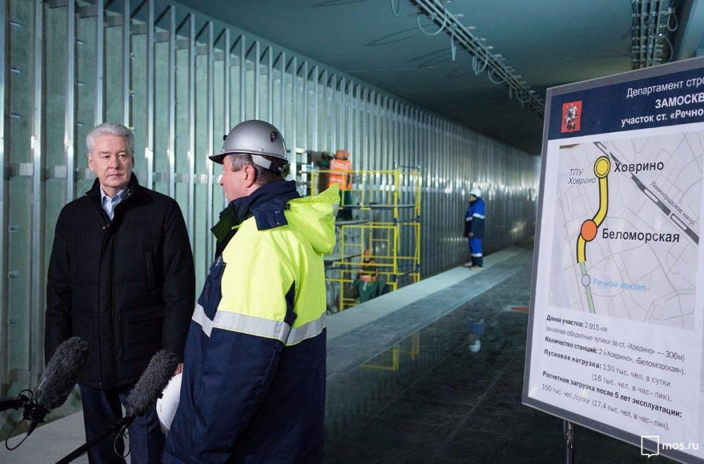 Рекордные объемы ввода метро ожидаются в столицеРФ в нынешнем году - Хуснуллин