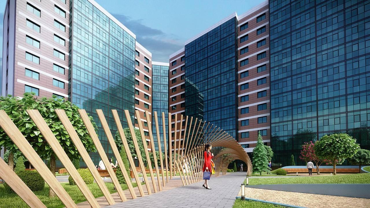 В столице достроили комплекс апартаментов Sky Skolkovo