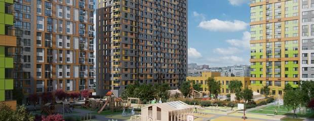 В ЖК «Петра Алексеева, 12А» идут работы по строительству второго этажа - Фото