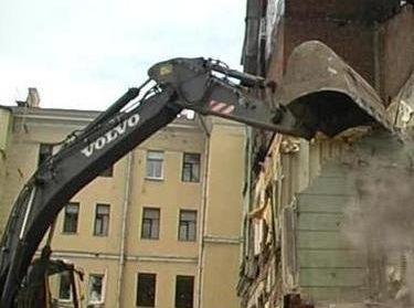 Здание в Большом Козихинском переулке снесли против воли местных жителей