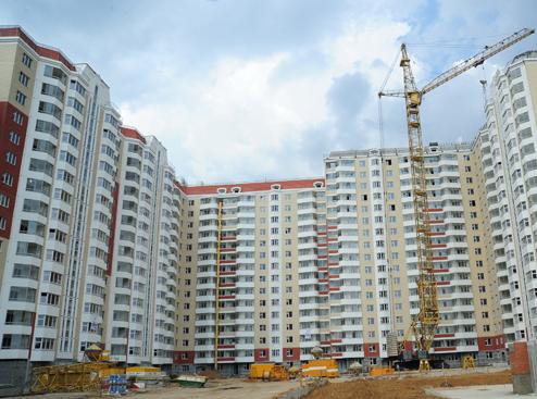 В России в этом году построят 67 млн квадратных метров жилья