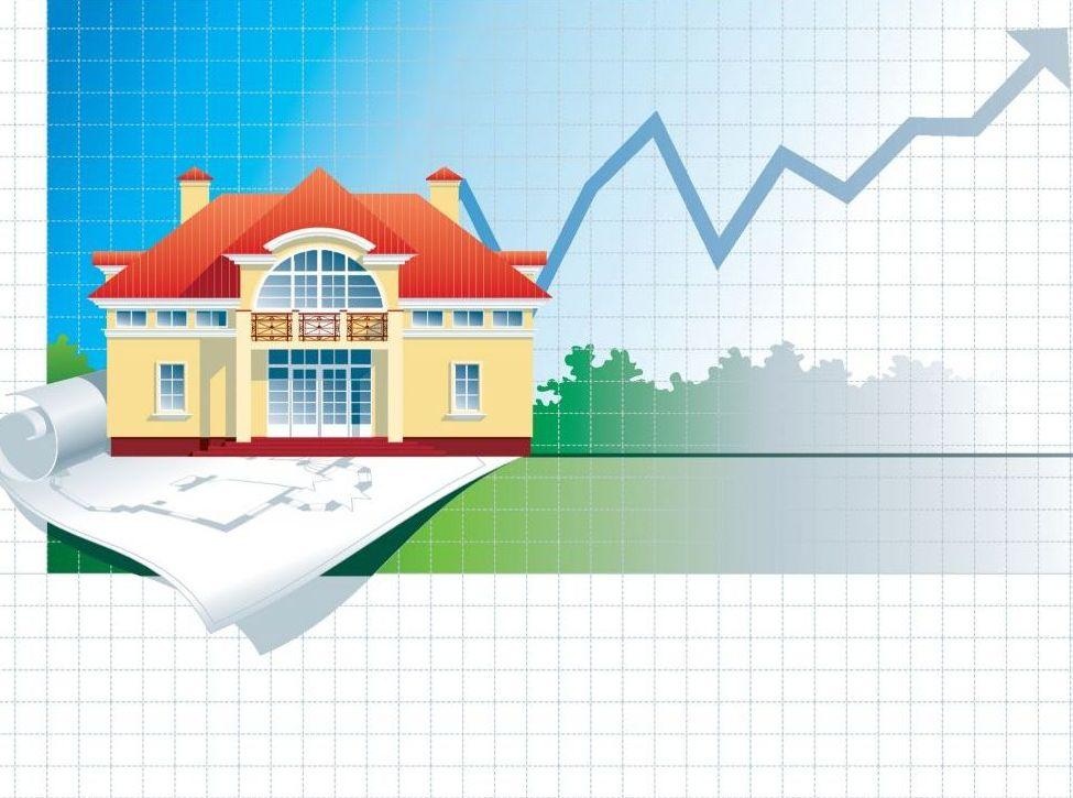 Объем выдачи  ипотечных кредитов за год вырос в 1, 8 раза
