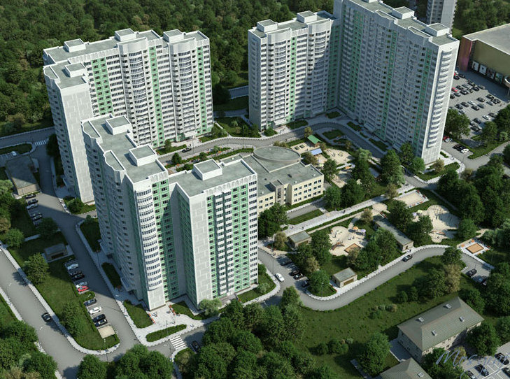 В столице количество  квартир в новостройках выросло более чем в 2,5 раза