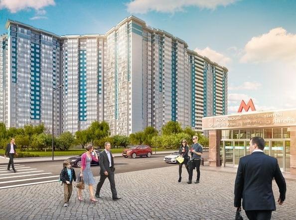 Новую квартиру у метро можно купить за 5,7 млн рублей