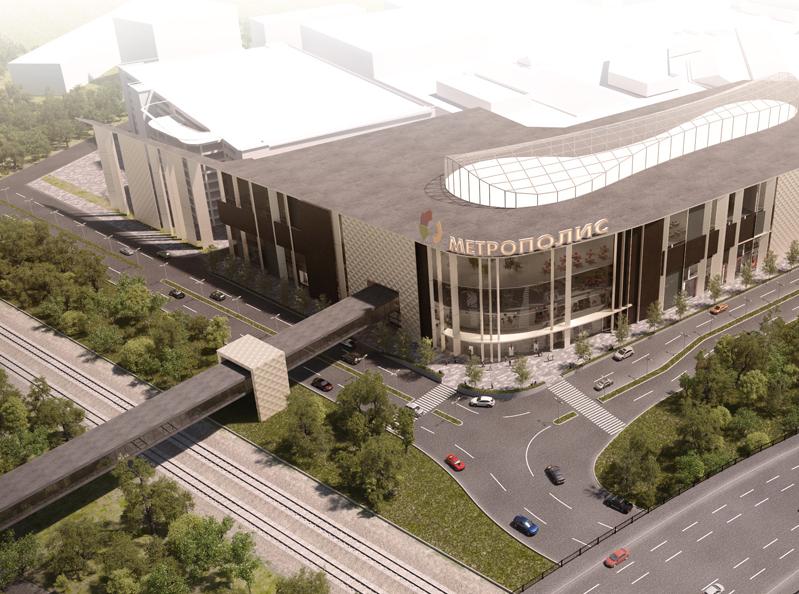 Глобальный торговый центр заменит старую промзону на Ленинградском шоссе