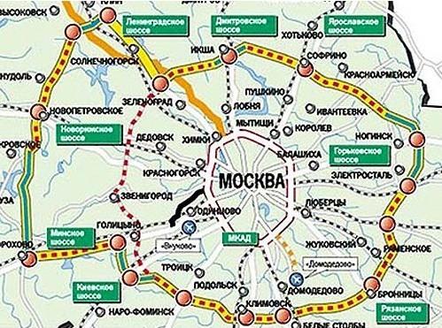 ЦКАДу придадут ускорение на 150 миллиардов рублей