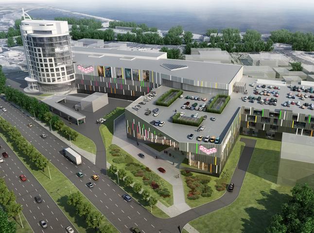 Во Владивостоке построят первый современный торгово-развлекательный комплекс