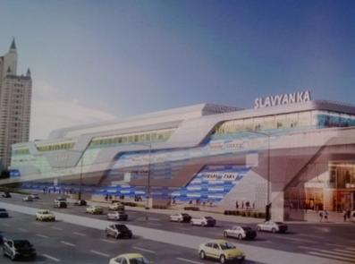 В Москве построят торговый центр со стеклянным лифтом посередине аквариума