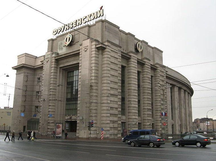 Пустующее здание «Фрунзенского» универмага в Петербурге превратят в бизнес центр А-класса