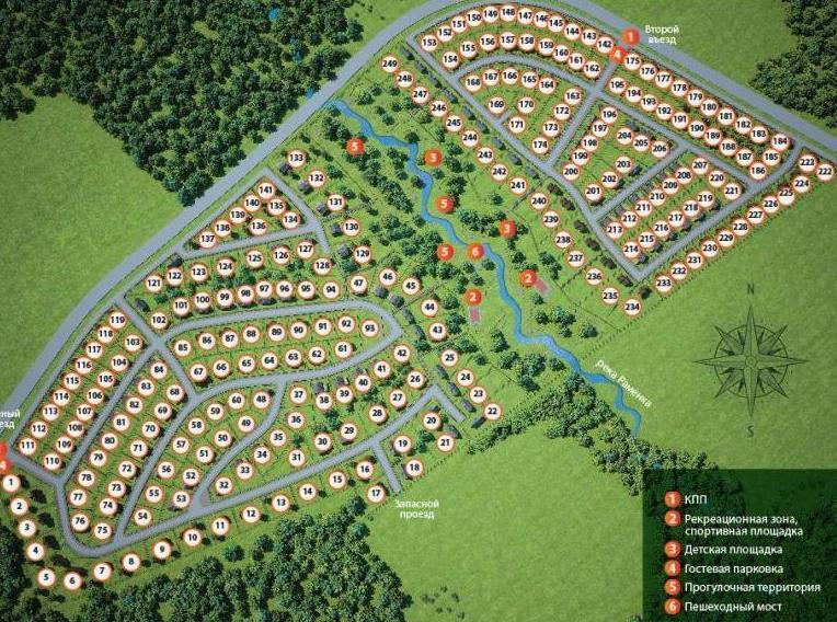 Начались продажи в новом поселке в Истринской долине