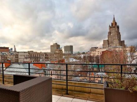 В Москве продано рекордное количество пентхаусов