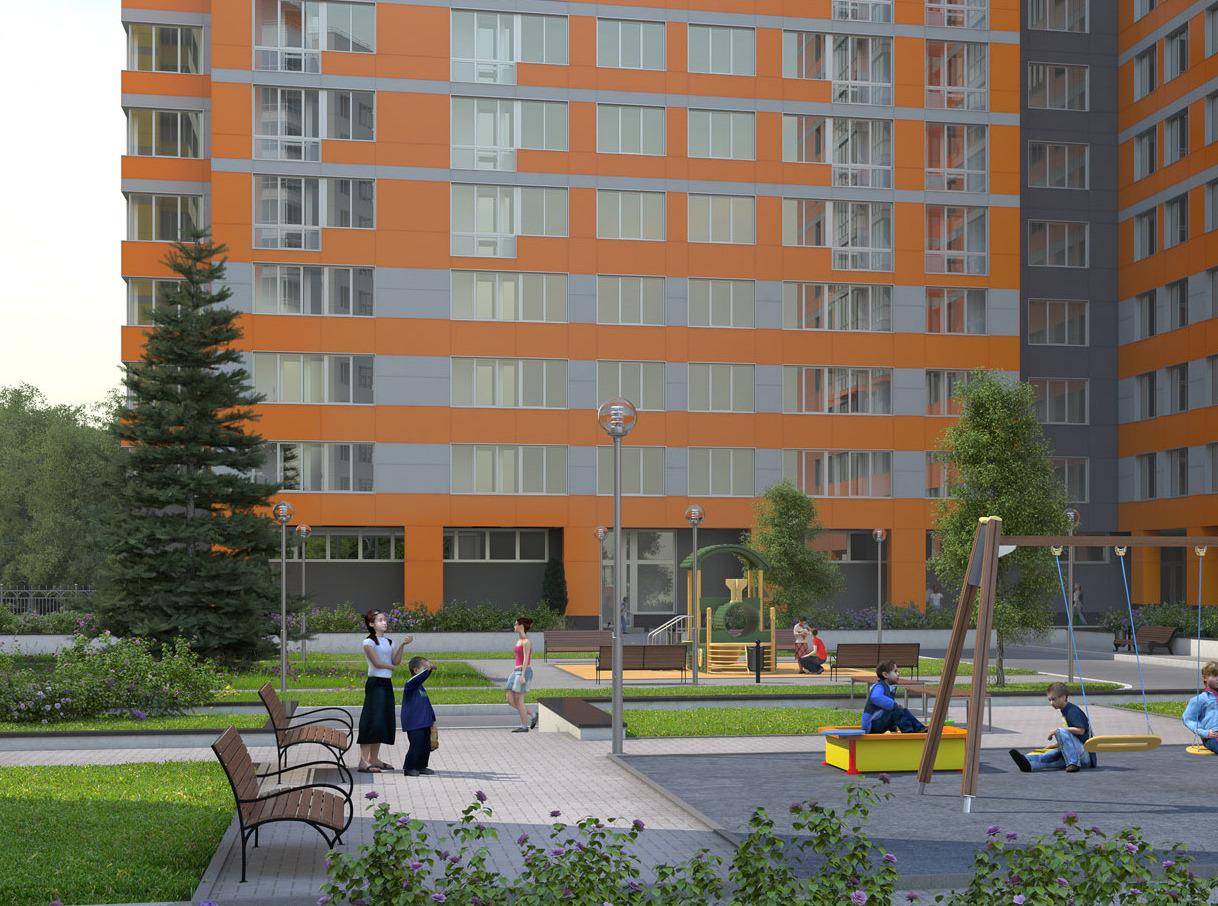 Два корпуса ЖК «Краски жизни» доступны для покупки квартиры в ипотеку