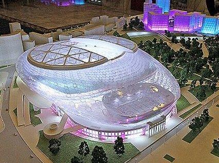 """Новый стадион """"Динамо"""" будут строить итальянцы"""