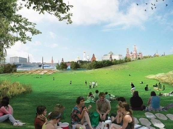 """Московский парк """"Зарядье"""" назвали в числе лучших футуристичных проектов мира"""