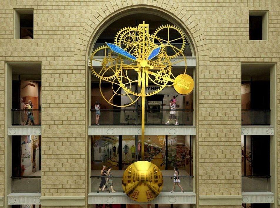 В Детском магазине на Лубянке установят самые большие часы в мире