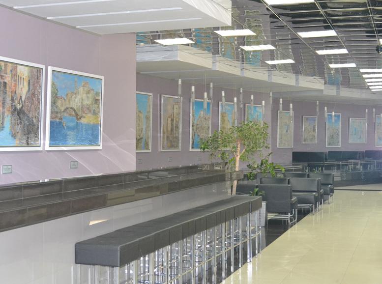 Бизнес-центр «Центр-Т» приобщился к искусству Никаса Сафронова