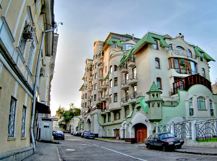 Остоженка названа самым дорогим районом Москвы