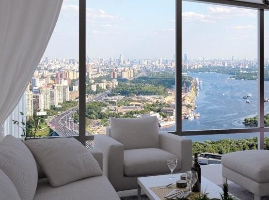 Средняя цена аренды элитной квартиры в Москве составила 7,5 тысячи долларов в месяц
