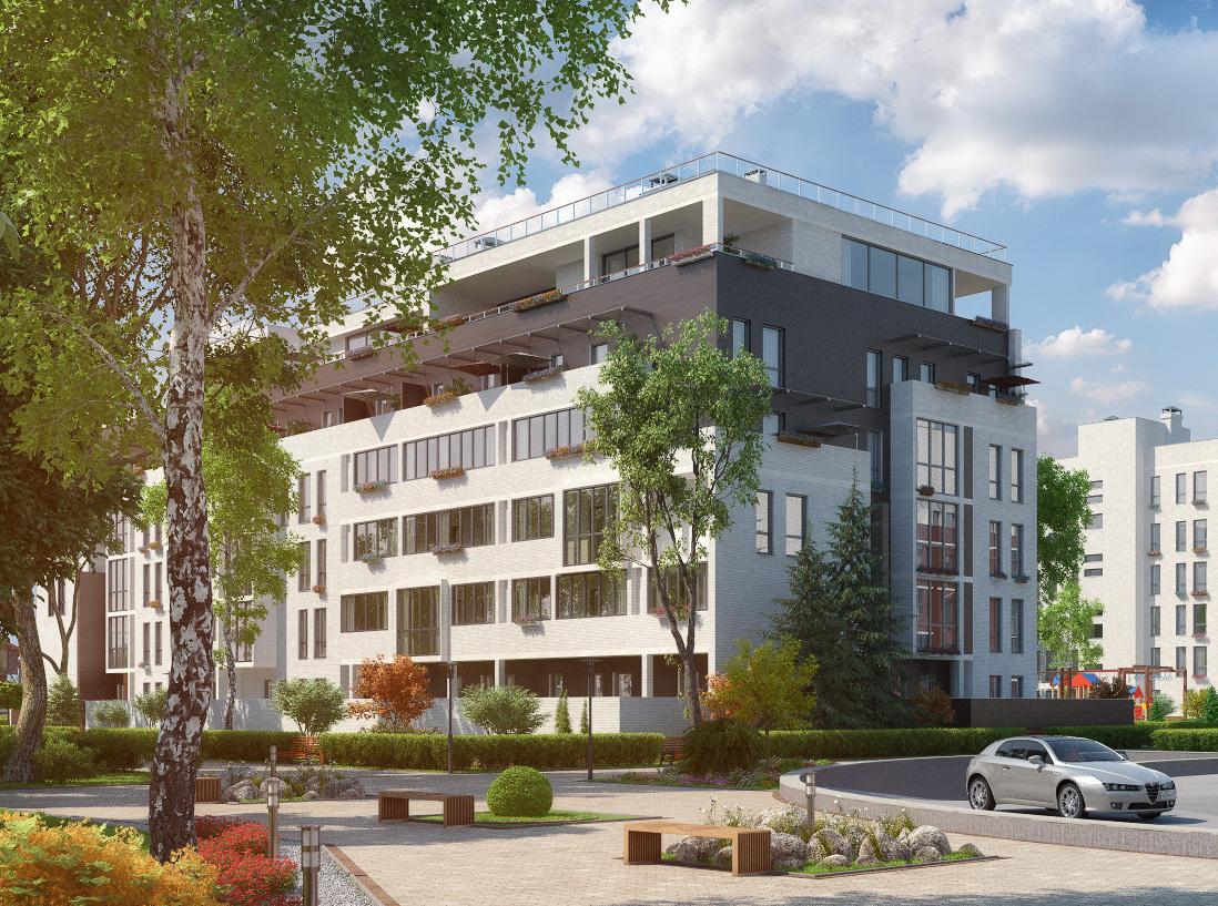 В  ЖК «Отрада» начали продавать квартиры в 22-м корпусе