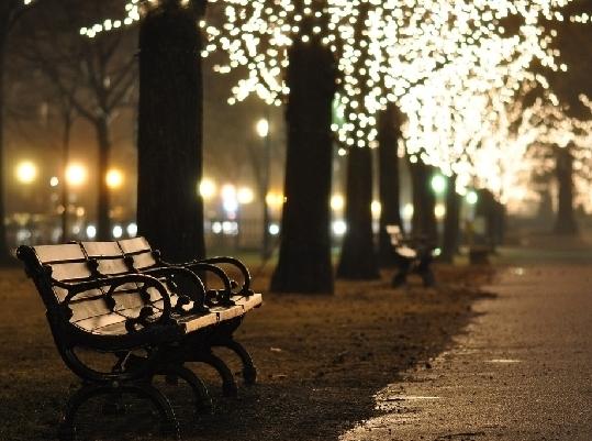 В Москве планируют установить скамейки с подогревом