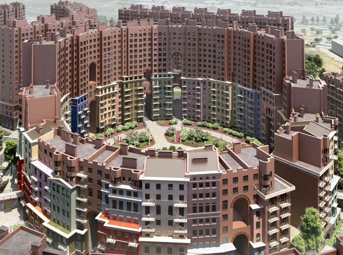 Российский проект жилого комплекса эконом-класса признан лучшим в Европе