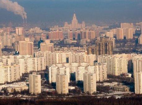 Из-за падения курса рубля спрос на вторичные квартиры в Москвы вырос на 10%