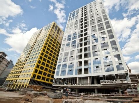 Завершается возведение 50% конструктива офисной башни МФК «Савеловский Сити»