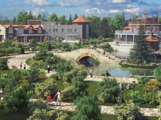На Симферопольском шоссе строится новый поселок с таунхаусами по 2,8 млн рублей