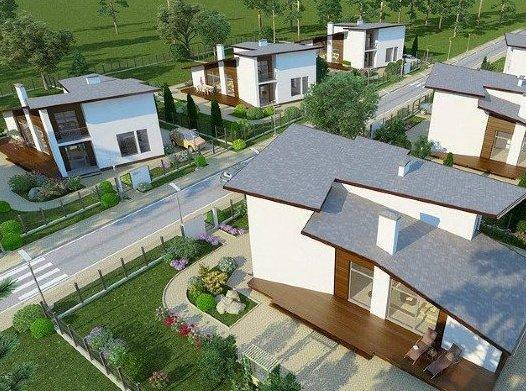 В проектах «Кембридж» и «Марсель» появились недорогие коттеджи от 4,9 млн рублей