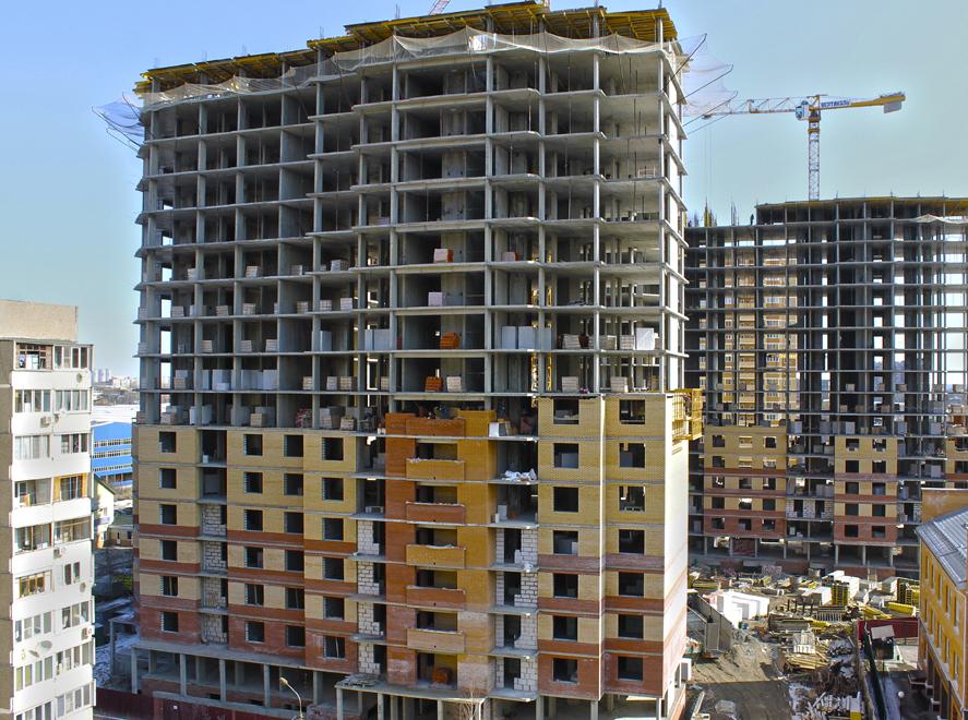 Вторая очередь ЖК «Рязановский» выросла на 16 этажей