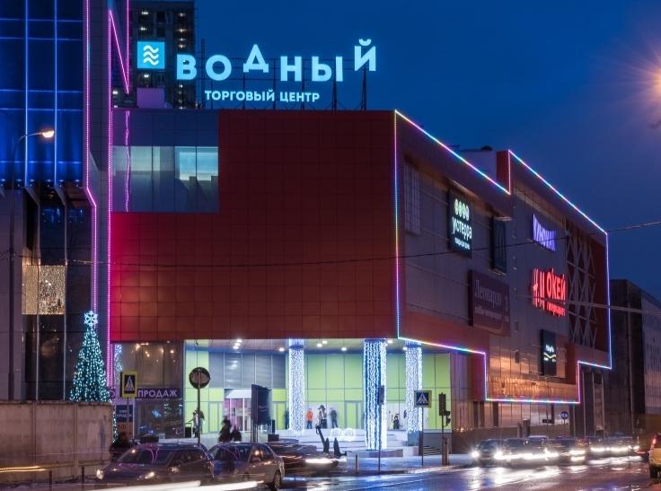 «Водный» - лучший торговый центр России в номинации премии RCSC Awards-2015