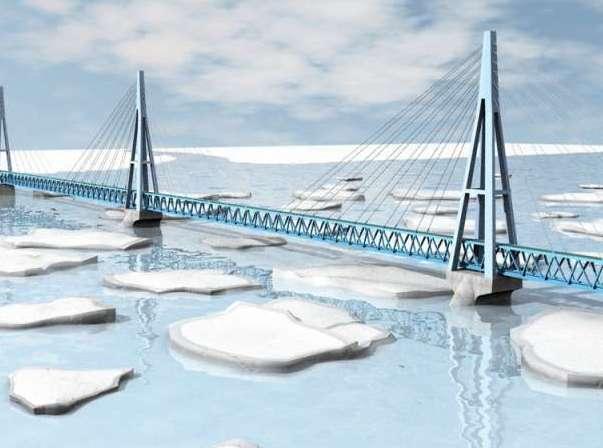 Россия пытается найти деньги на строительство моста через Лену