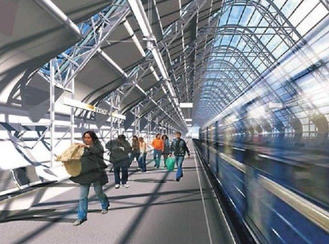 В Москве станцию метро «Технопарк» поместят под стеклянный купол