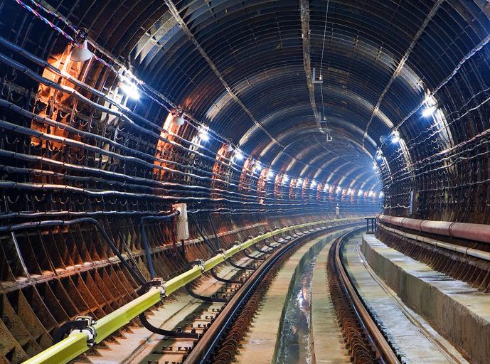 С начала года в столице возвели 15 км тоннелей метро