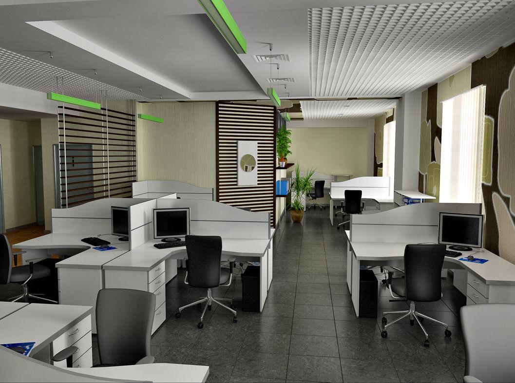 Доля свободных офисных площадей в мире снизилась до 14,1%