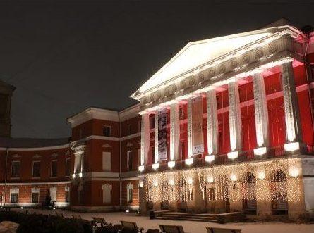 Музей современной истории России подсветят триколором