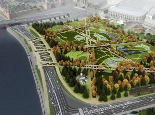 К 870-летию Москвы будет готов парк «Зарядье»