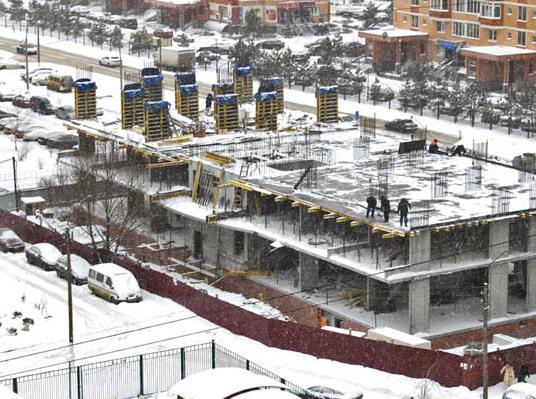 О ходе строительства жилого дома на ул. Подольская, 16 в декабре