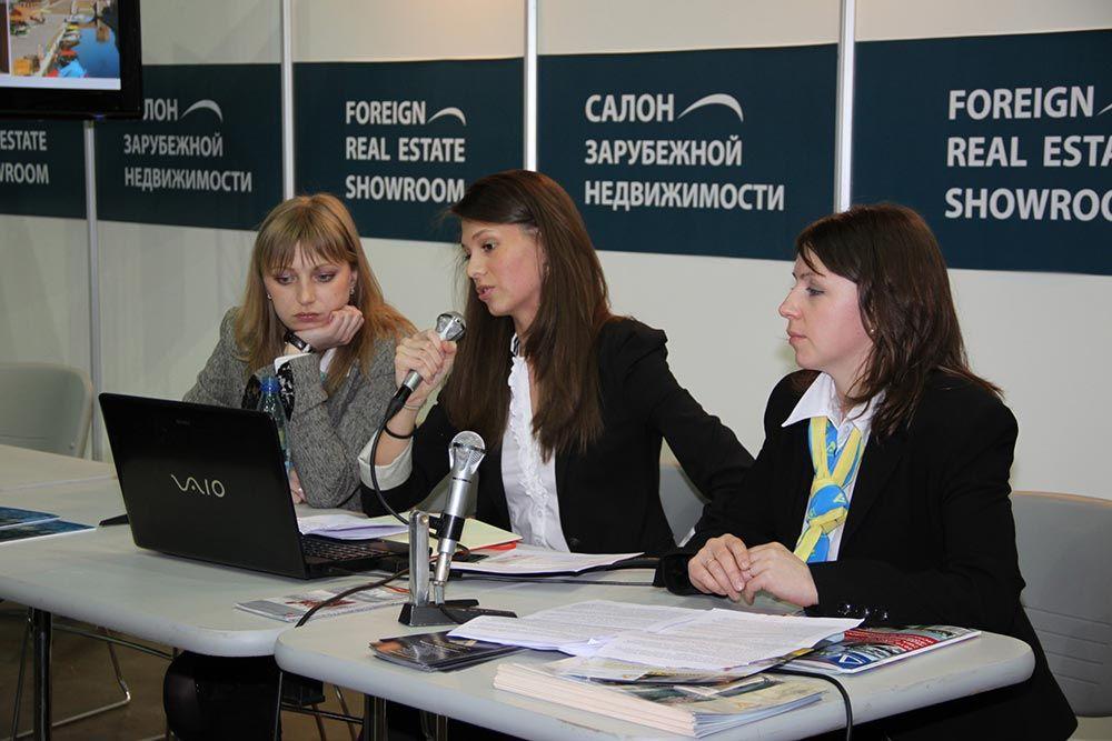 Выставка «Салон зарубежной недвижимости» прошла в Петербургском СКК