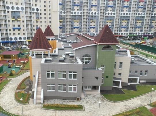 В ЖК «Спасский мост» открыт муниципальный детский сад № 42 с бассейном