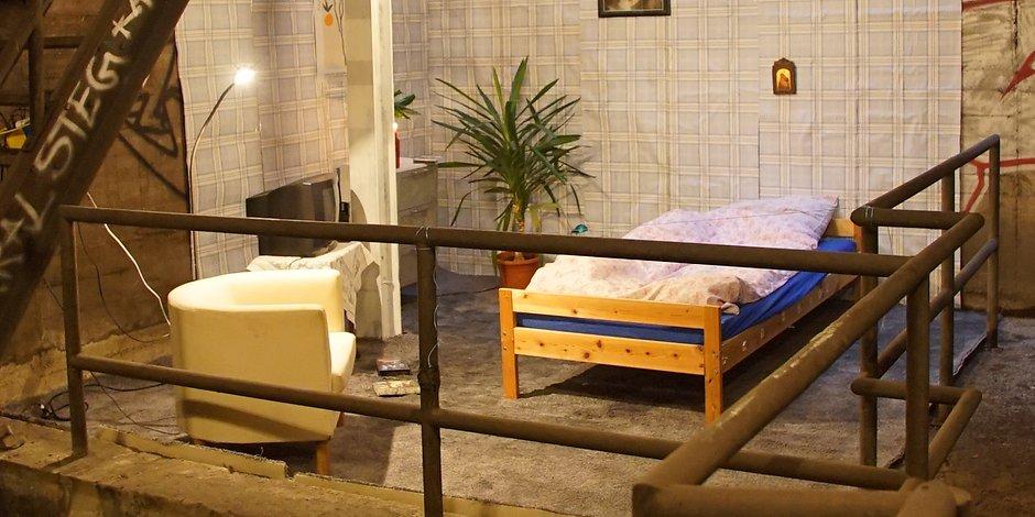 Секретную квартиру обнаружили в берлинском метро