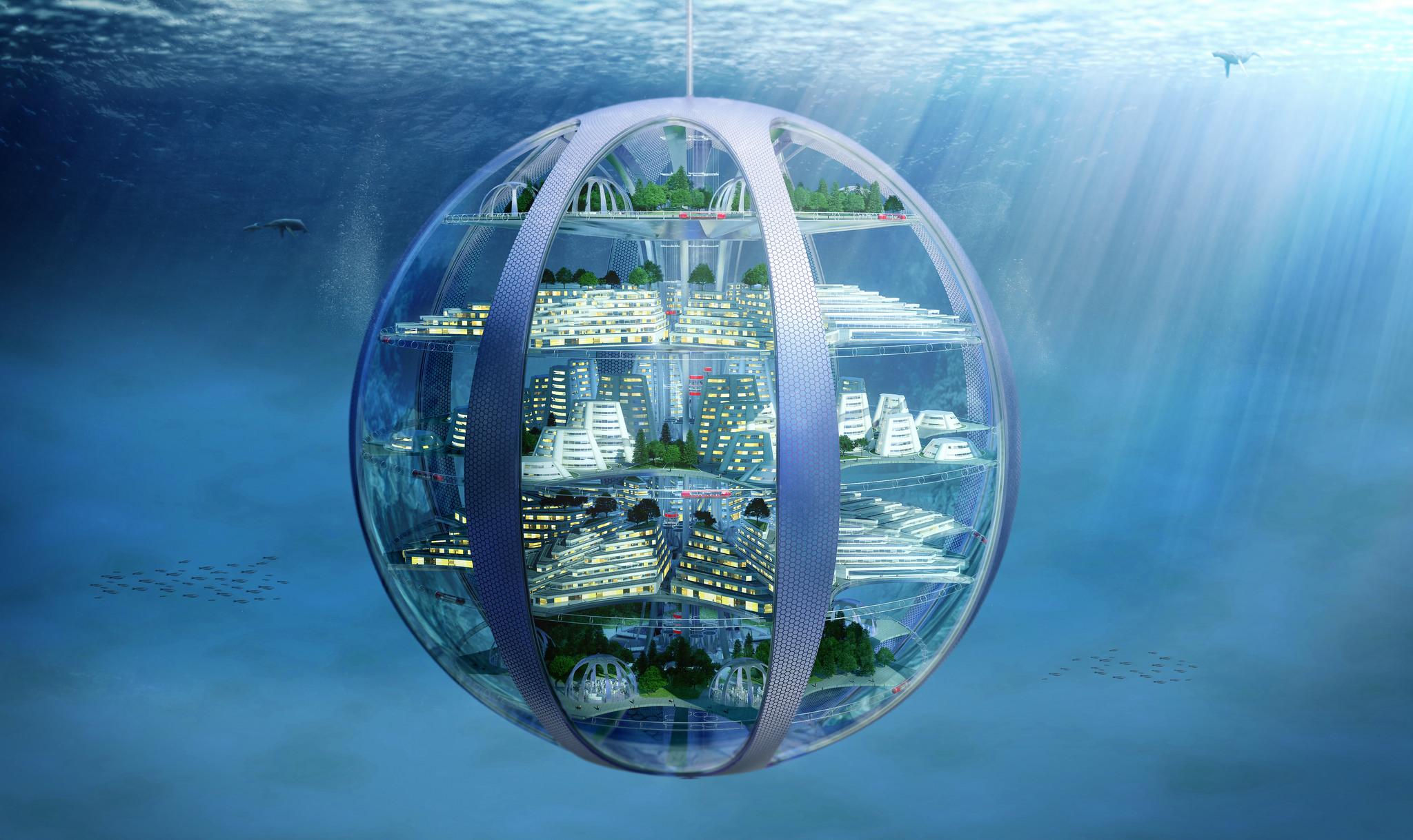 Samsung предрекает жизнь в напечатанных на 3D-принтерах подводных домах