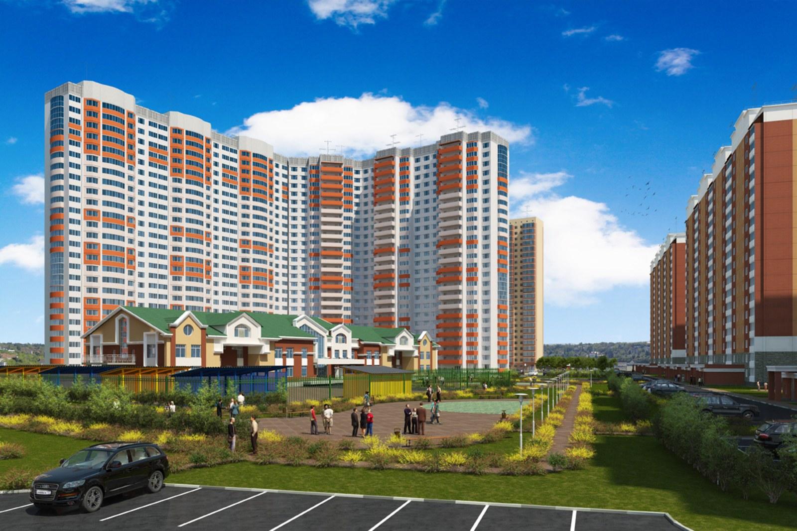 В новом корпусе ЖК «Домодедово Парк» принимаются предварительные заявки на квартиры