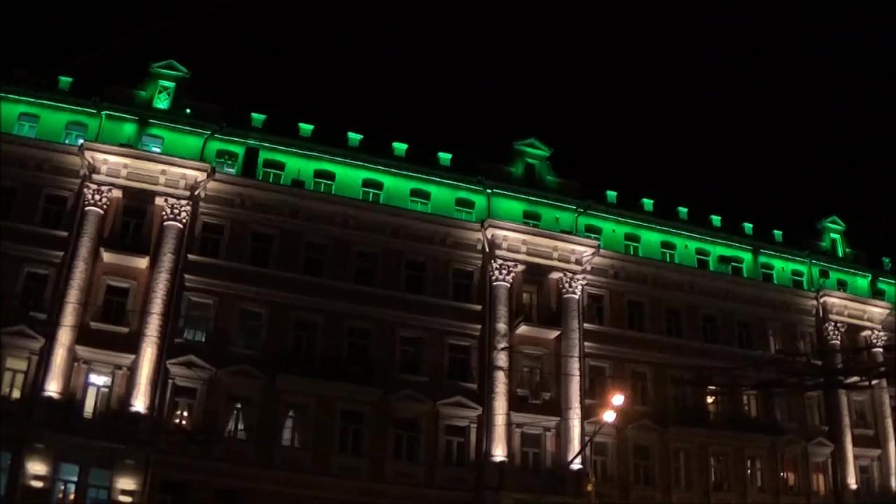 Москву подсветят зеленым в день Святого Патрика