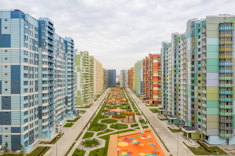 Доля панельных домов в Москве не превышает 10% новостроек