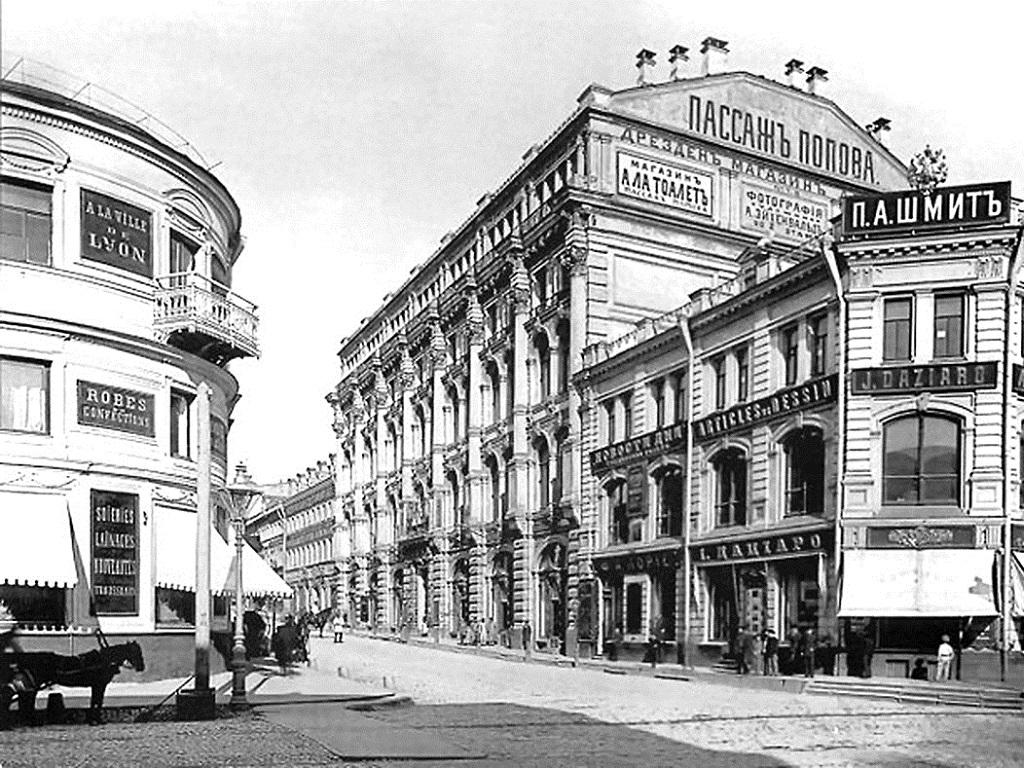 На Кузнецком мосту отреставрируют пассаж XIX века